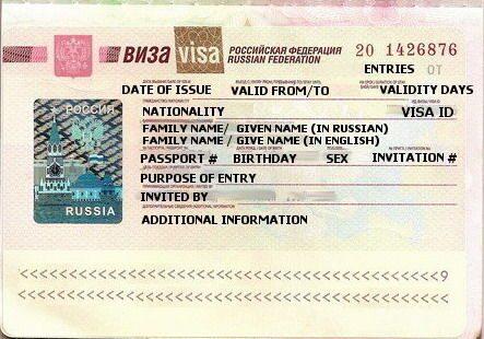 Рабочая виза в россию для граждан китая